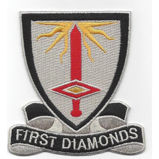 1st Finance Battalion Patch