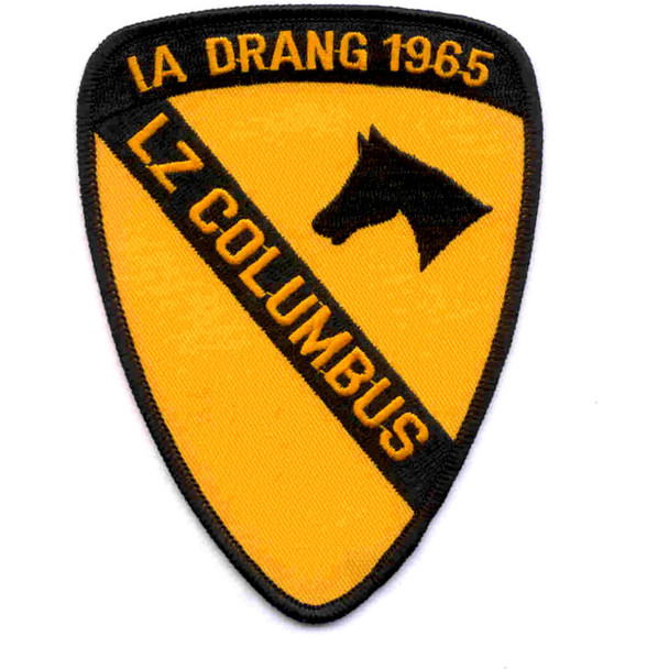 1st Cavalry Division Patch Ia Drang 1965 Lz Columbus Vietnam
