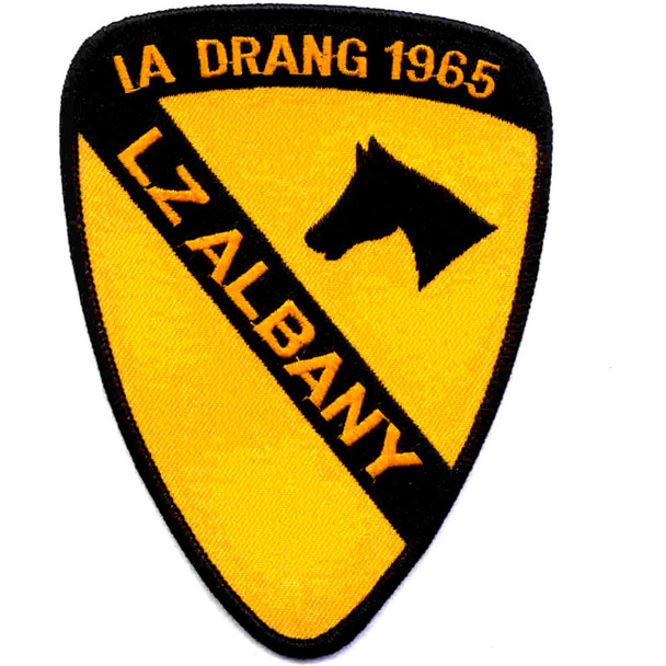 1st Cavalry Division Patch Ia Drang 1965 Lz Albany Vietnam