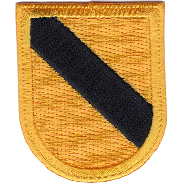 1st Cavalry Div HQ'S Non Airborne Beret Flash Patch #2