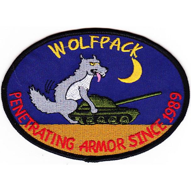 1st Battalion Reconnaissance 82nd Aviation Regiment Wolfpack Patch