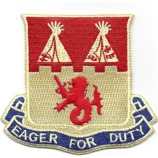 157th Field Artillery Battalion Patch