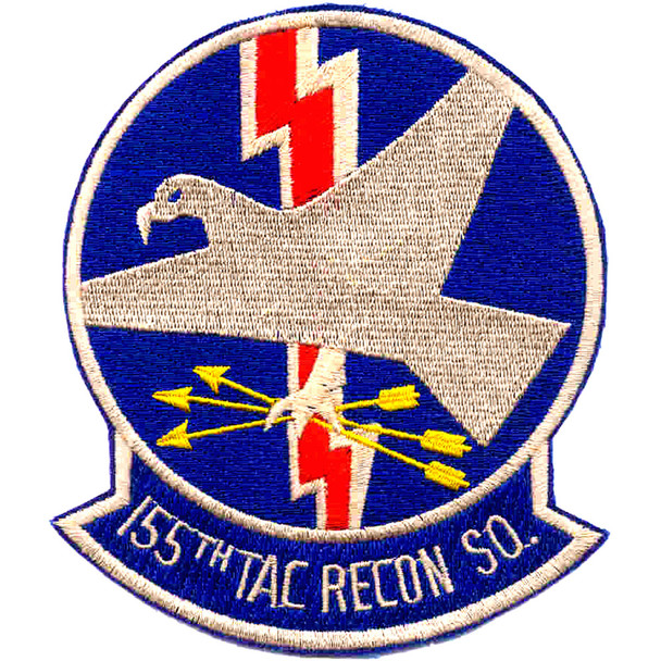 155th Tac Recon Squadron Patch