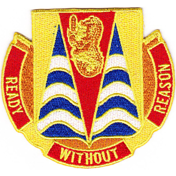 152nd Chemical Battalion Patch
