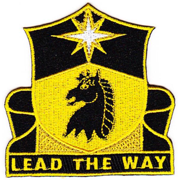 151st Cavalry Regiment Patch