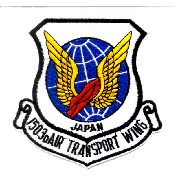 1503rd Air Transport Wing Patch Japan