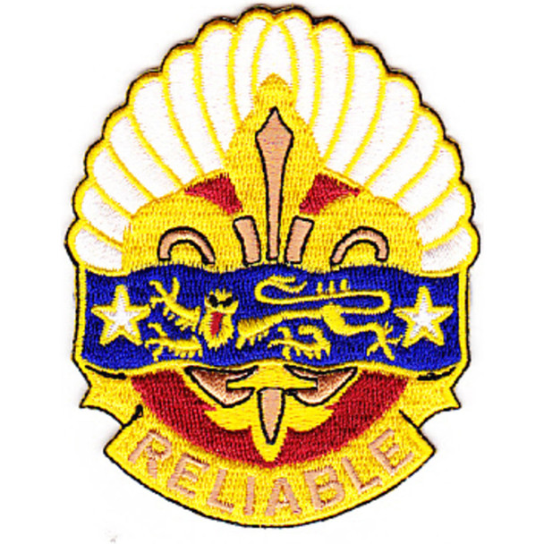 14th Transportation Battalion Patch