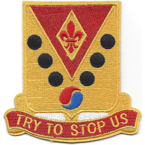 142nd Field Artillery Regiment Patch