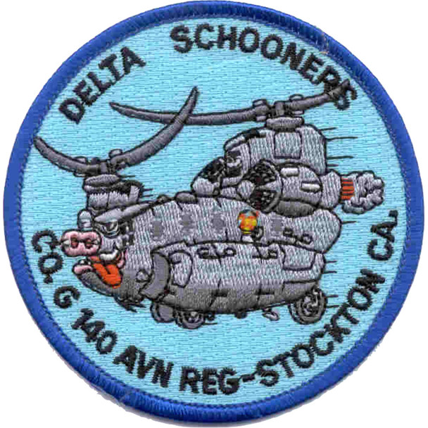 140th Aviation Transport G Company Patch - A Versio