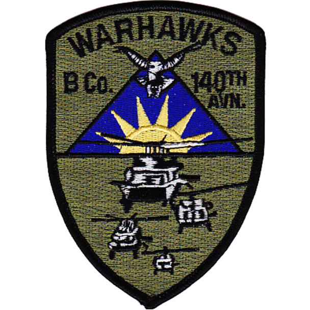 140th Aviation Regiment B Company Patch