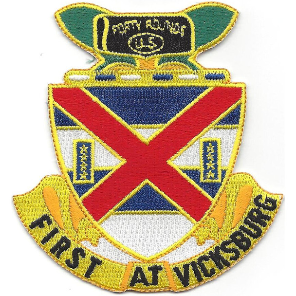 13th Infantry Regiment Patch First At Vicksburg