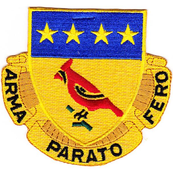 138th Field Artillery Regiment Patch