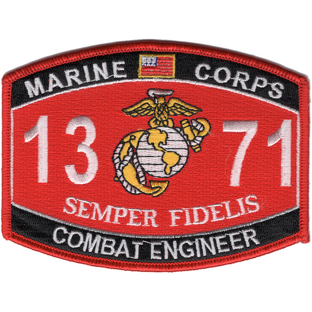 1371 Combat Engineer MOS Patch