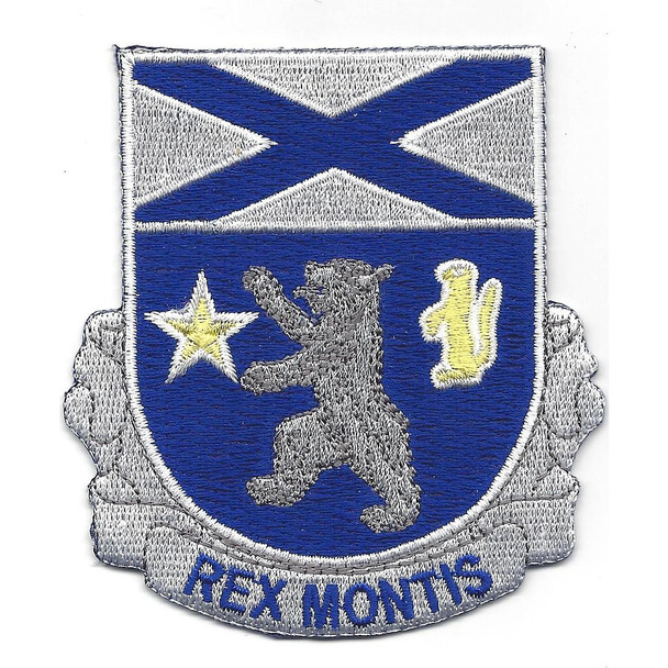 136th Infantry Regiment Patch
