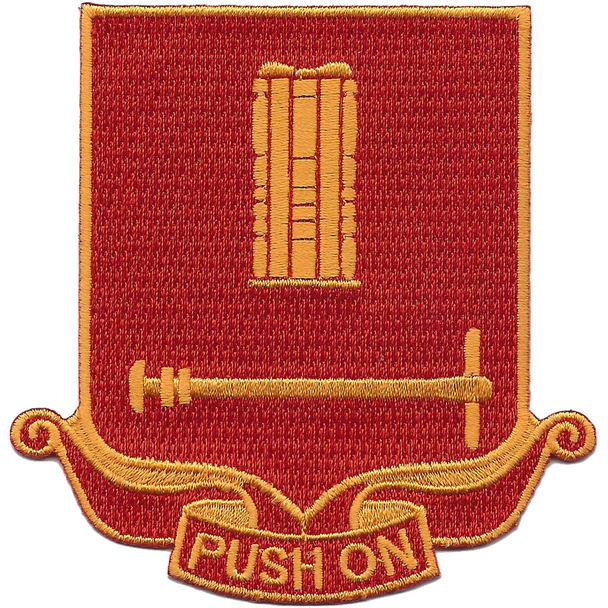 136th Field Artillery Battalion Patch-PUSH ON