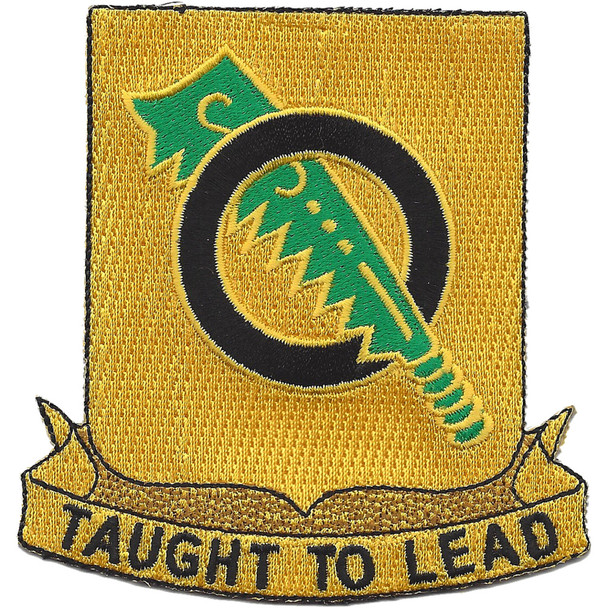 131st Armored Regiment DUI Patch