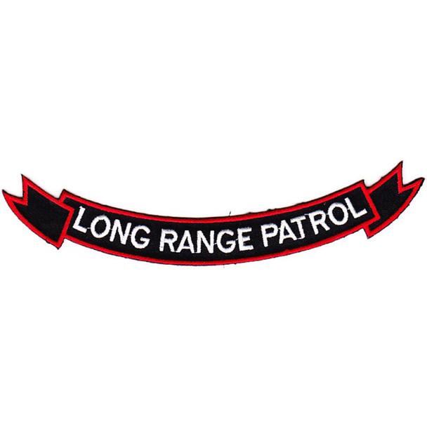75th Rangers Long Range Patrol Patch