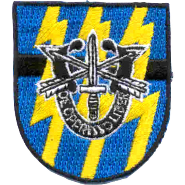 12th Special Forces Group With Crest Flash Patch