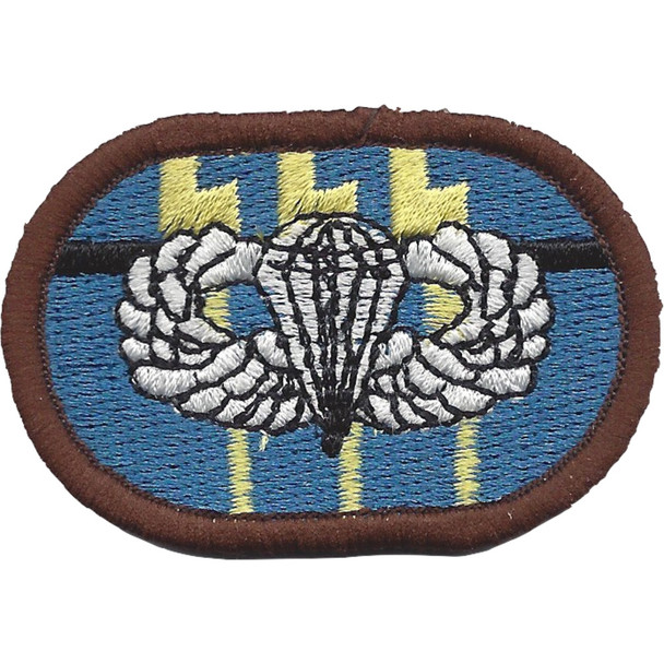 12th Special Forces Group Airborne BPB Oval Patch