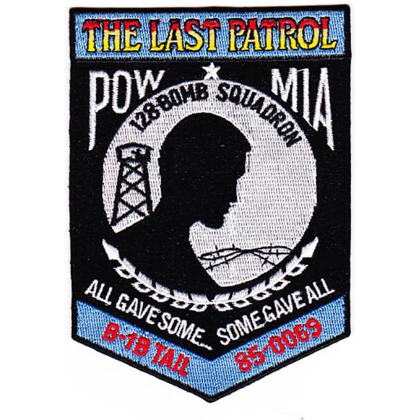 128th Bomb Squadron Patch