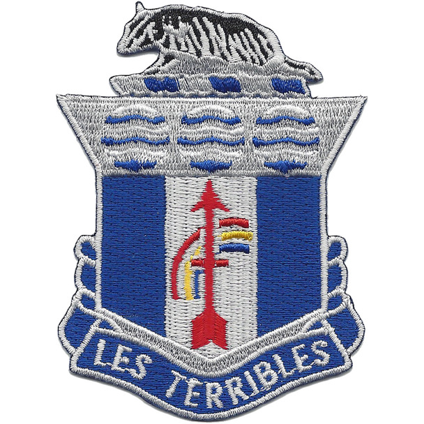 127th Infantry Regiment Patch