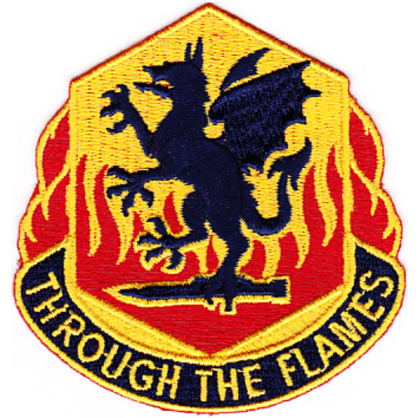 126th Chemical Battalion Patch