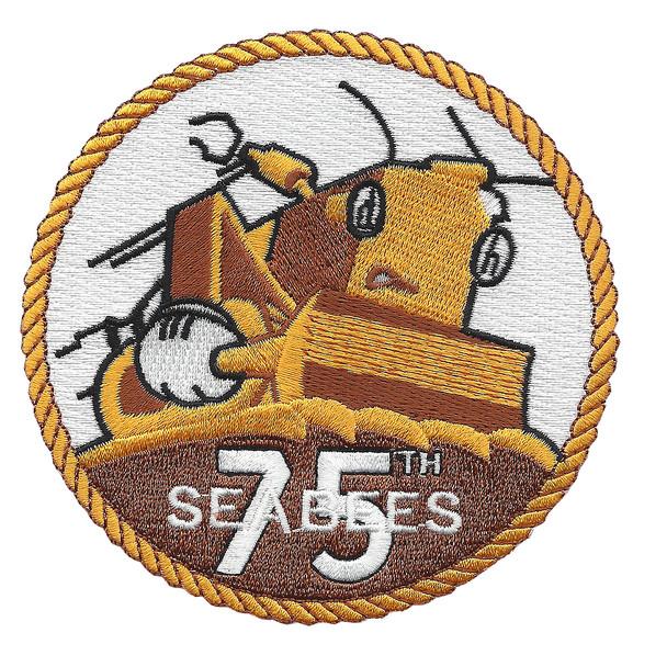75th Naval Mobile Construction Battalion Patch