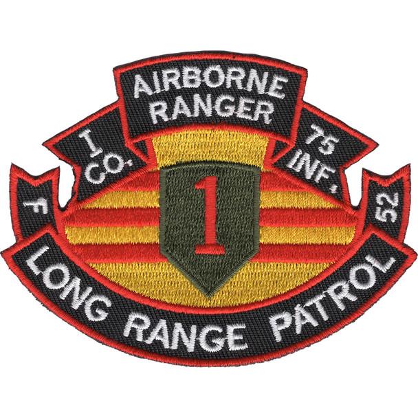 75th Infantry Regiment I Company Long Range Patrol - Airborne Ranger