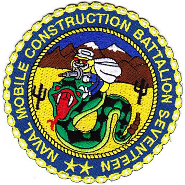 17th Mobile Construction Battalion Patch