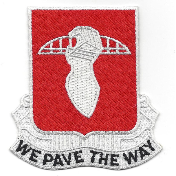 17th Engineer Battalion Patch
