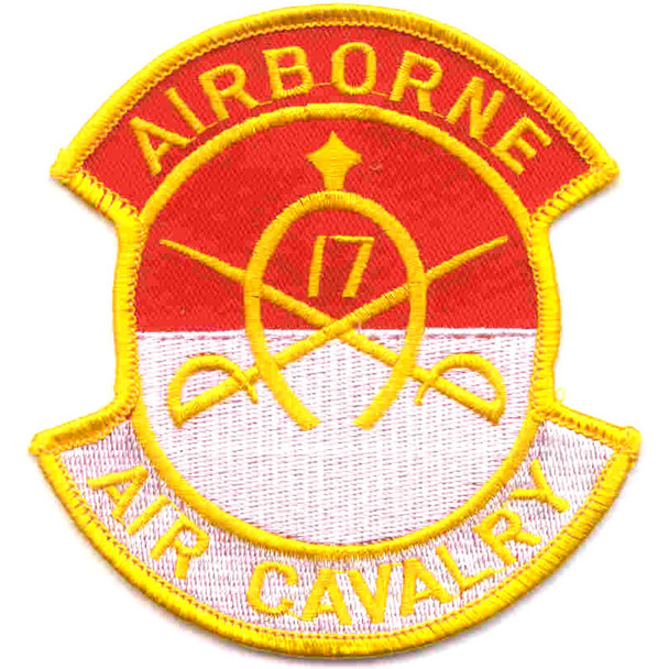 17th Cavalry Regiment Patch Airborne