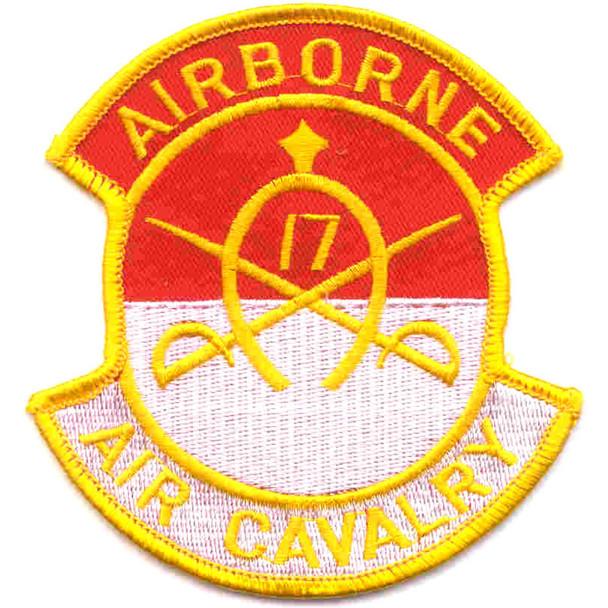 17th Cavalry Regiment Patch Airborne