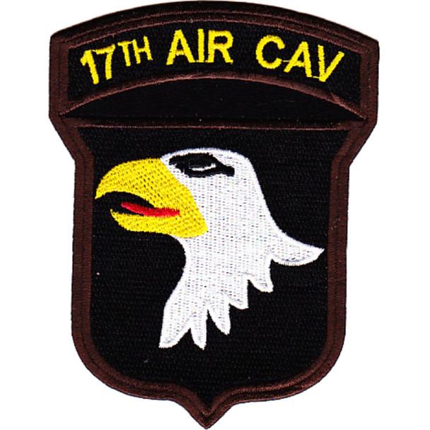 17th Airborne Cavalry Regiment 101st Airborne Division Patch