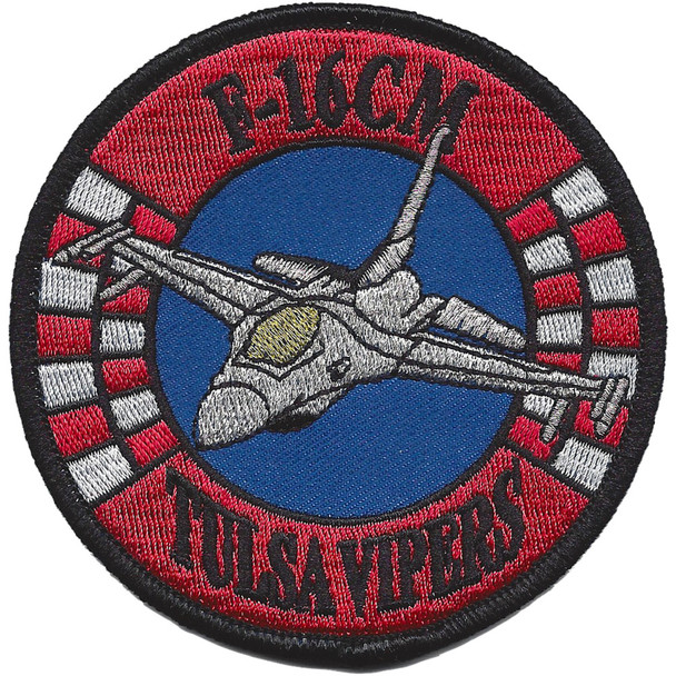 125th Fighter Squadron F-16M Patch