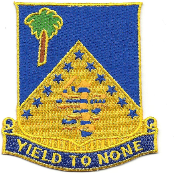 125th Infantry Regiment Patch