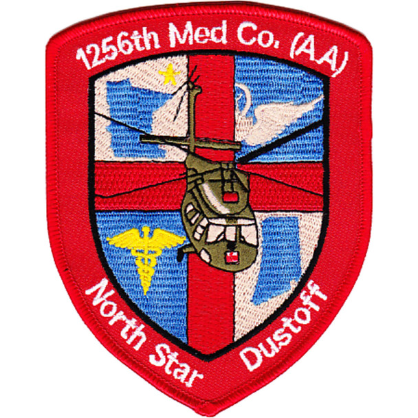 1256th Aviation Medical Company Air Ambulance Patch