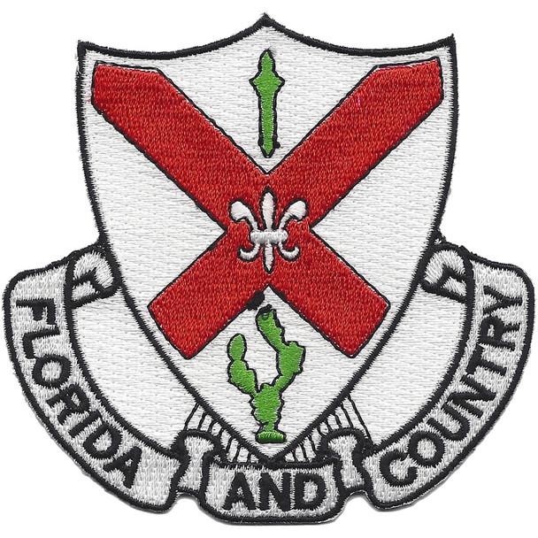 124th Infantry Regiment Patch