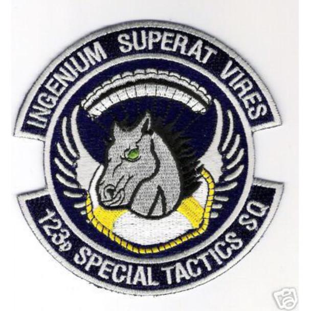 123rd Special Tactics Squadron (Color) Patch