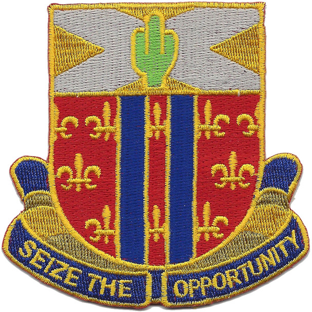 123rd Cavalry Regiment Patch