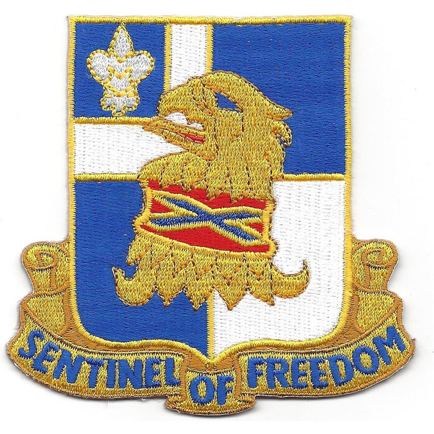 122nd Infantry Regiment Patch