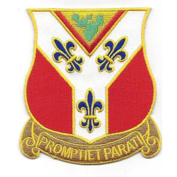 122nd Field Artillery Regiment Patch