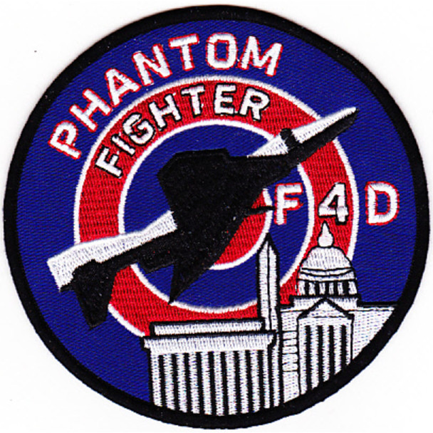 121st Tactical Fighter Squadron Patch F-4D Phantom