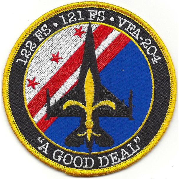 121st Fighter Squadron Det. New Orleans Patch