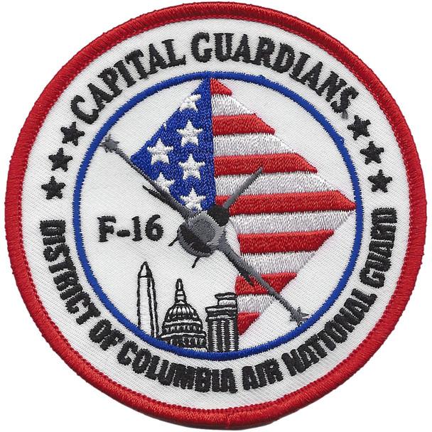 121st Fighter Squadron Capital Guardians Patch