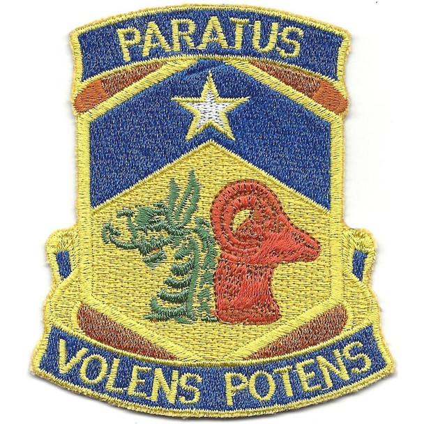 121st Chemical Battalion Patch