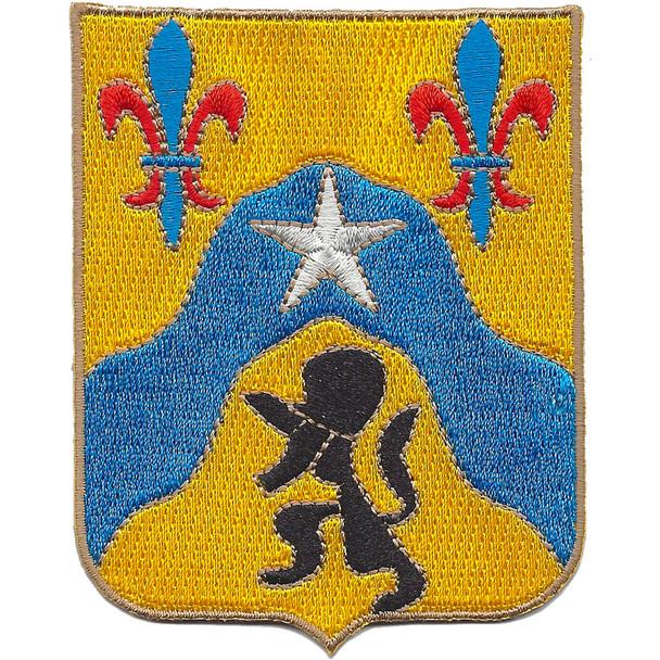 121st Cavalry Regiment Patch
