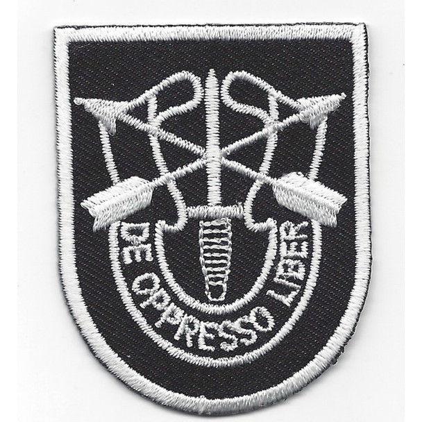 5th Special Forces Group Flash With Crest Patch