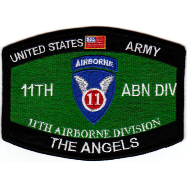 11Th Airborne Division Military Occupational Specialty MOS Patch