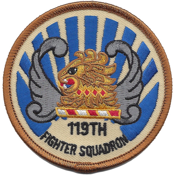 119th Fighter Squadron Small Patch