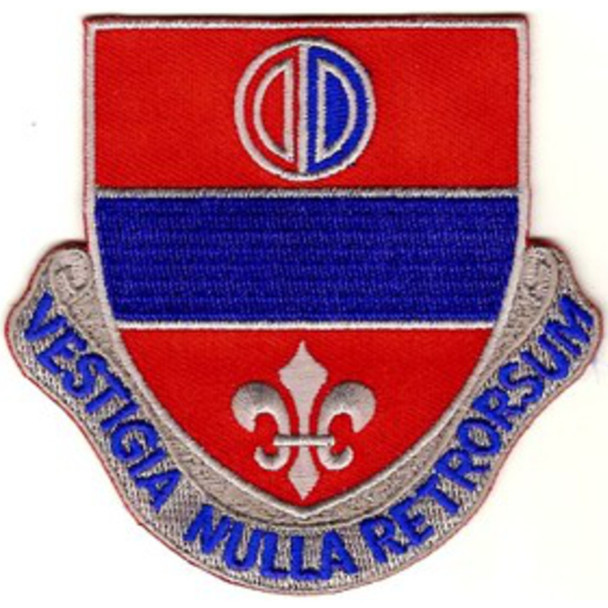 116th Field Artillery Regiment Patch